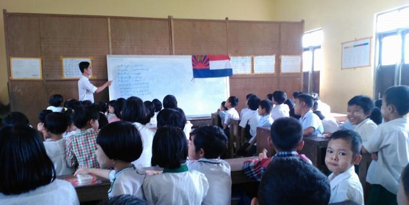 Photo of Over 100,000 Students Study Karen Literature in Ayeyarwady Region