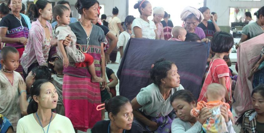 Photo of Over 200 IDPs Arrive in Myaing Gyi Ngu after KNLA, Tatmadaw Clashed