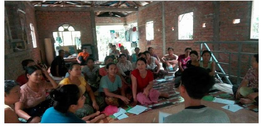 Photo of Mat Weaving Project Aims to Increase Rural Women's Income in Pantanaw Area