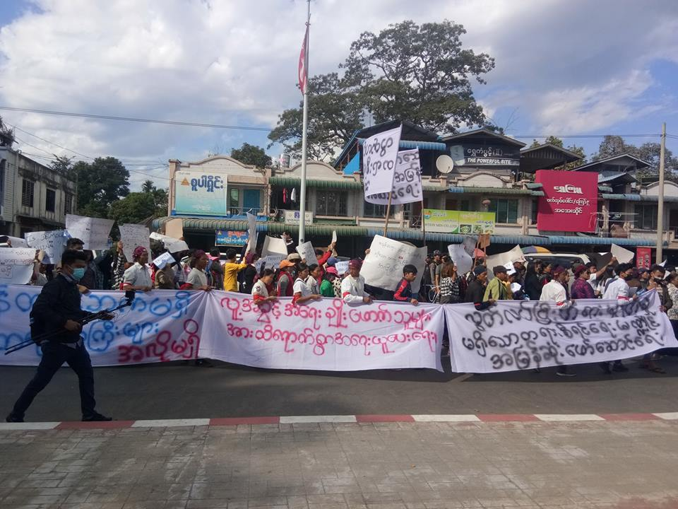 Photo of Karen Groups Express Solidarity with Jailed Kachin Activists
