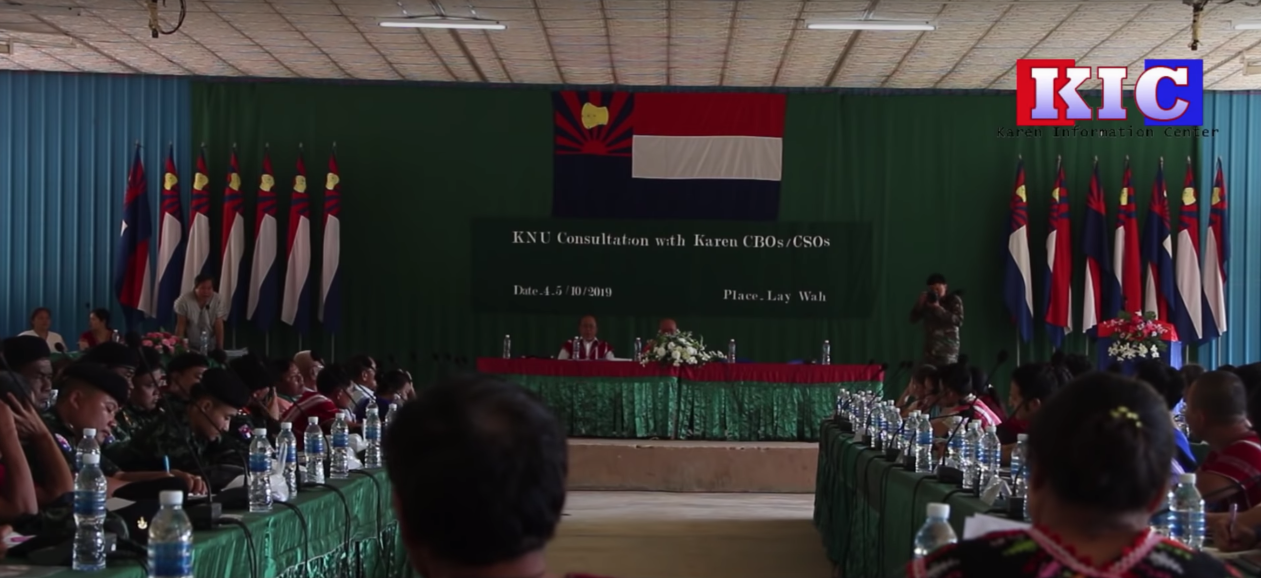 Photo of KNU Briefs Karen Groups on Peace Process and Honors Jailed Karen Martyr's Day Activists