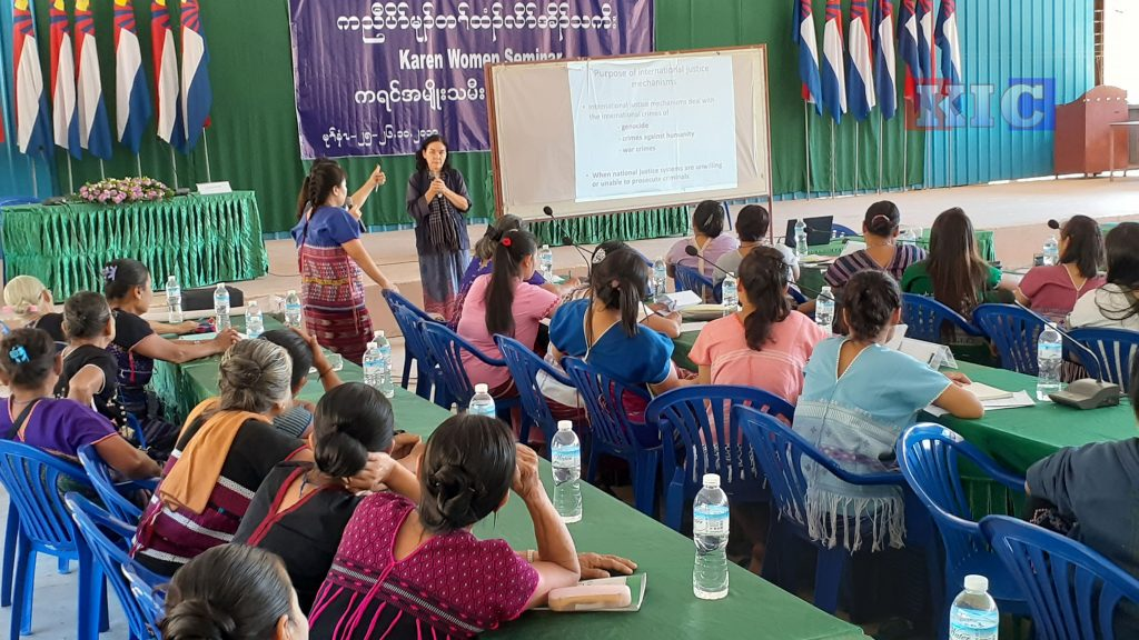 Photo of Grassroots Karen Women Groups Call for Genuine Reforms and More Involvement in Burma Politics