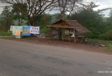 Photo of KNU's Covid-19 Screening Post Destroyed by Burma Army Re-Opens in Mutraw (Papun) District