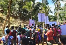 Photo of 1,500 Villagers Protest Murder of Karen Woman – Demand Burma Army Camp Withdraw
