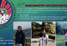 Photo of Karen Organization of America Names Essay Winners