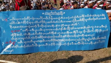 Photo of 10,000 Karen Villagers Protest – Demand Burma Army Withdraws and Stop Its Road Building Through Indigenous Lands