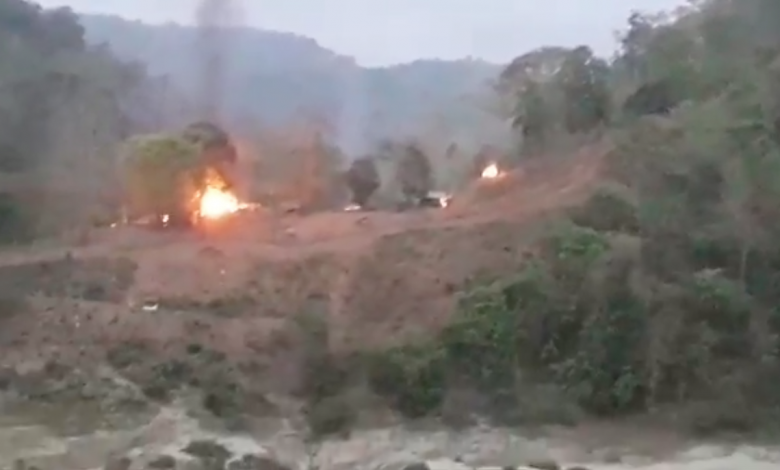 Photo of Karen Army: Burma Army Camp Destroyed After Its Soldiers Fire On Unarmed Civilian River Traffic in Northern Karen State