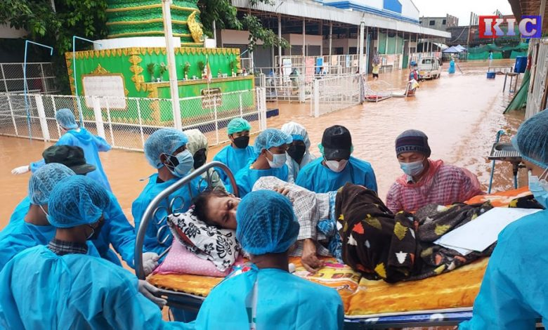 Photo of Myawaddy Residents Fear Flooding, Closure of Treatment Centres and Rising COVID-19 Cases