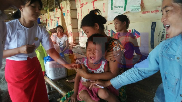 Photo of COVID and Political Coup Mayhem Disrupt Childhood Immunization Programs in Karen State